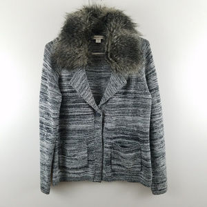 Coldwater Creek Removable Fur Collar
